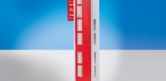 Playmobil - 9802 - Add-On Hose Tower for Fire Station with Alarm