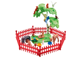 Playmobil - 9817 - Wild Animals Enclosure