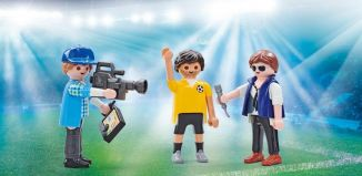 Playmobil - 9825 - Fernsehteam beim Interview