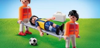 Playmobil - 9826 - Paramedics with football player