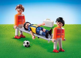 Playmobil - 9826 - Paramedics with football player