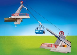 Playmobil - 9830 - Cable car with mountain station