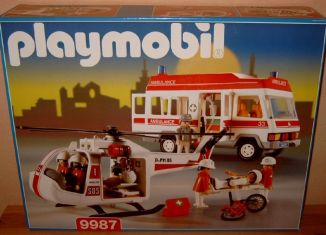 Playmobil - 9987v1-esp - Rescue Superset