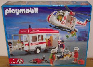 Playmobil - 9987v2-esp - Rescue Superset
