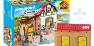 Playmobil - DE1806A - Pony Ranch Bundle