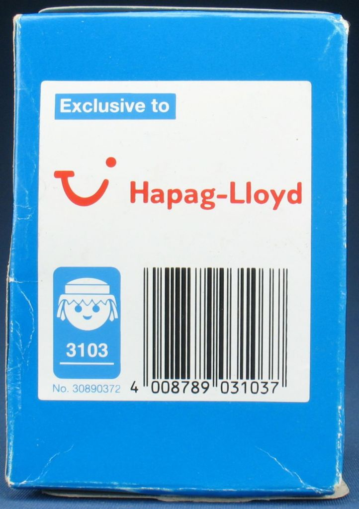 "Playmobil 3103 - Pilot & Stewardess ""Hapag Lloyd"" - Box"