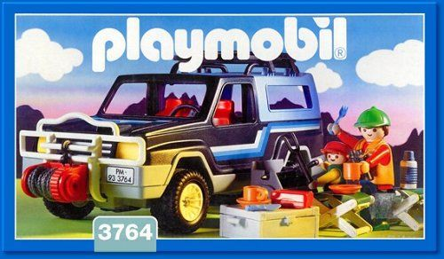 Playmobil 3764 - Geländewagen - Box