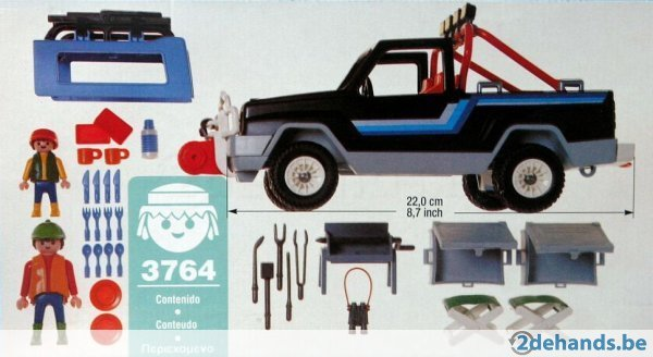 Playmobil 3764 - Pick Up 4X4 - Volver
