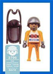 Playmobil 3796 - Luge Racer - Back