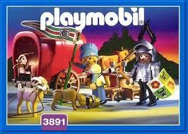 Playmobil 3891 - Ox-Cart Knight - Box