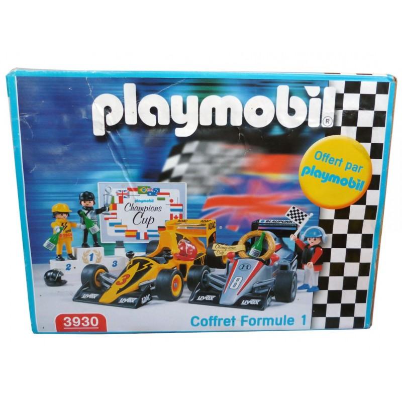 Playmobil 3930 - 2 Car Racing Set - Box