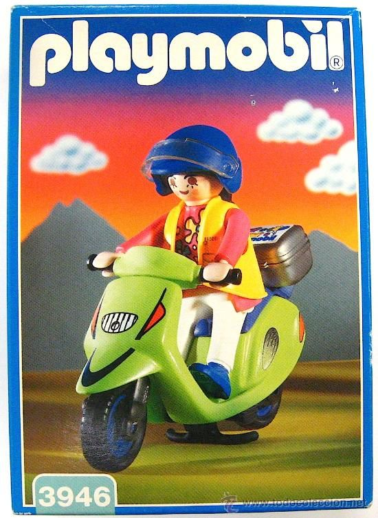 Playmobil 3946 - Motor Scooter - Box