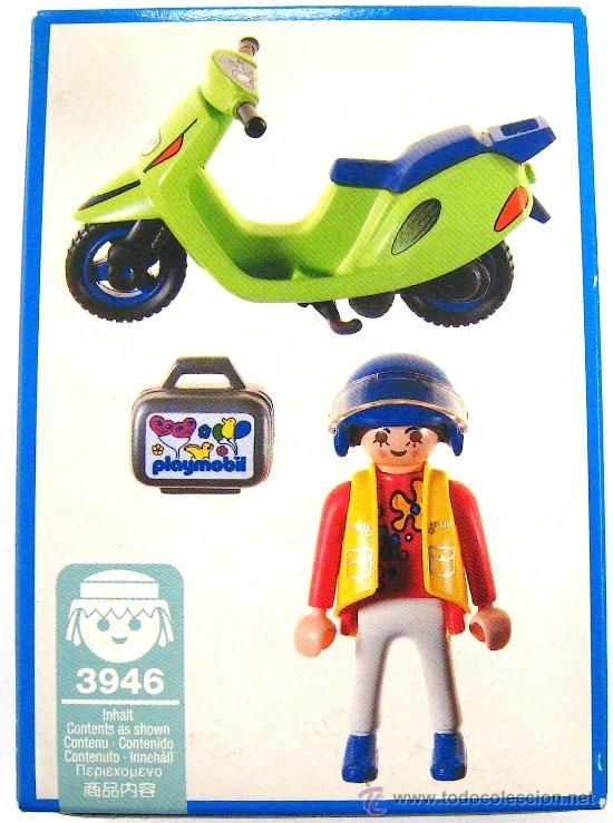 Playmobil 3946 - Motor Scooter - Back