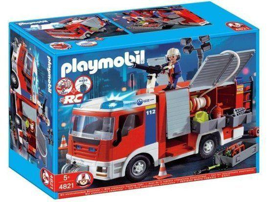 Playmobil 4821v1 - Fire engine - Box