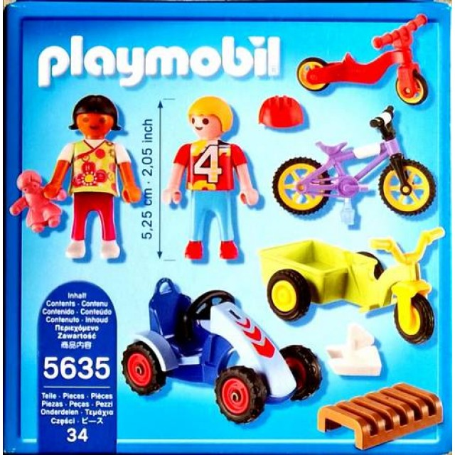 Playmobil 5635 - Children's Vehicles - Back