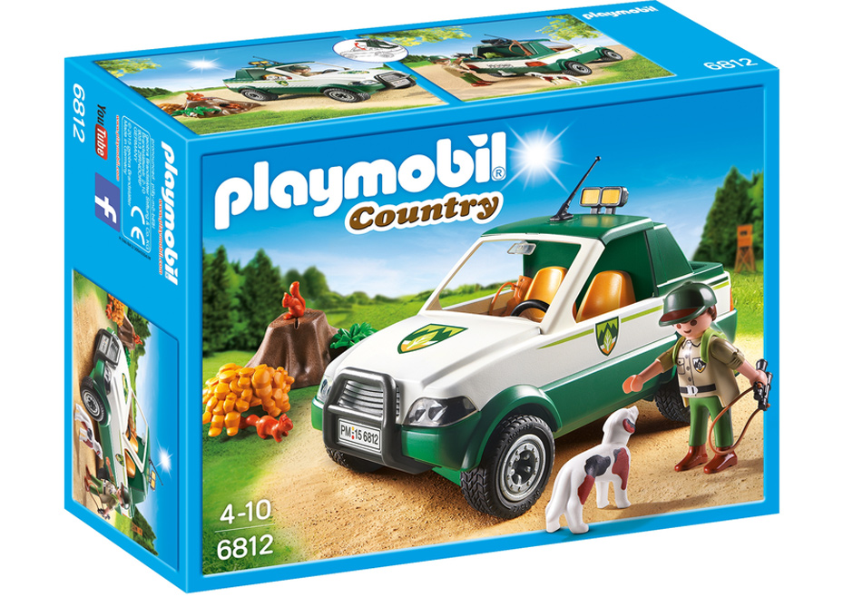 Playmobil 6812 - Forest ranger - Pickup - Box
