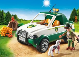 Playmobil - 6812 - Forest ranger - Pickup