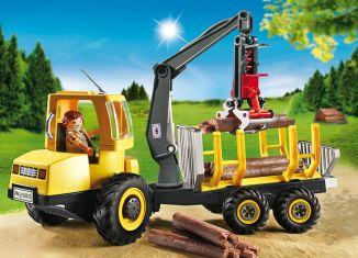 Playmobil - 6813 - Forwarder with crane