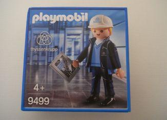 Playmobil - 9499-ger - ThyssenKrupp worker