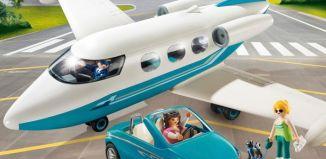 Playmobil - 9504 - Executive Jet & Car