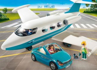 Playmobil - 9504 - Executive Jet & Car