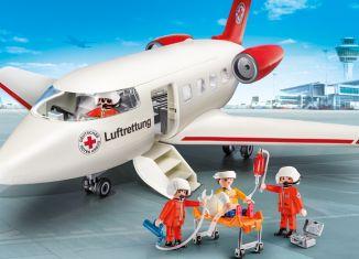 Playmobil - 9534-ger - DRK-Rettungsflugzeug