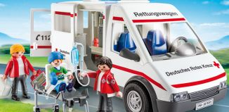 Playmobil - 9535-ger - DRK-Rettungswagen