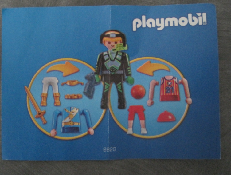 Playmobil 9828 - Multi-Set Boys - Box