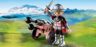 Playmobil - 9441 - Knight and Cannon
