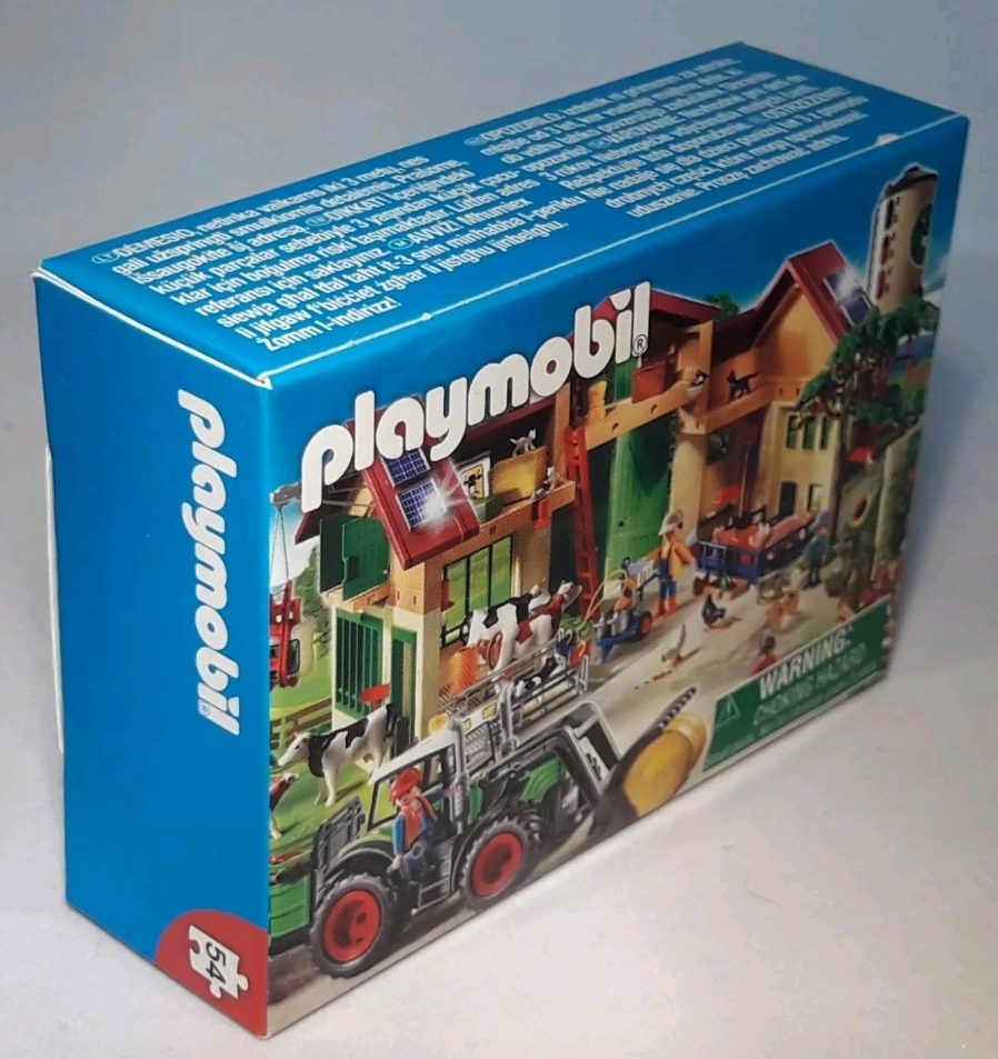 Playmobil 86934-ger - Mini-Puzzle Farm (2011) - Box