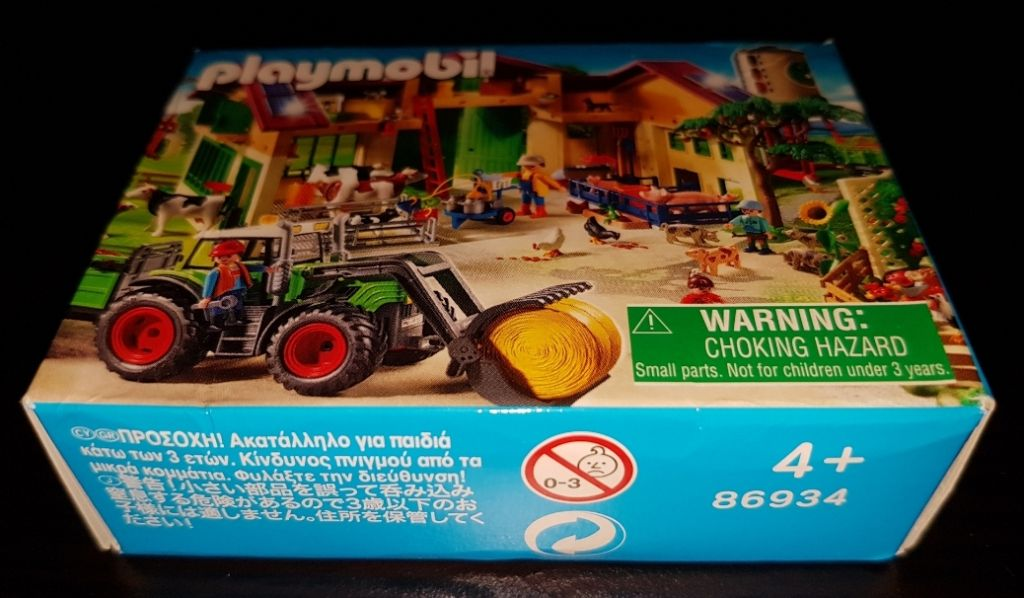 Playmobil 86934-ger - Mini-Puzzle Farm (2011) - Back