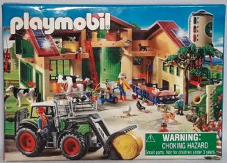 Playmobil - 86934-ger - Mini-Puzzle Farm (2011)