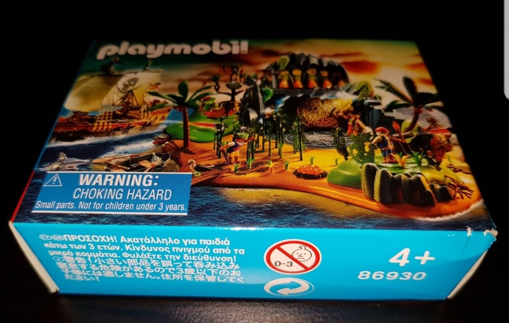 Playmobil 86930-ger - Mini-Puzzle Pirates (2011) - Box