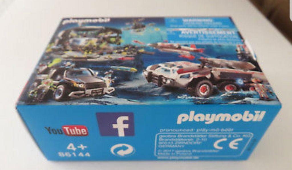 Playmobil 86144 - Mini-Puzzle Top Agents - Box