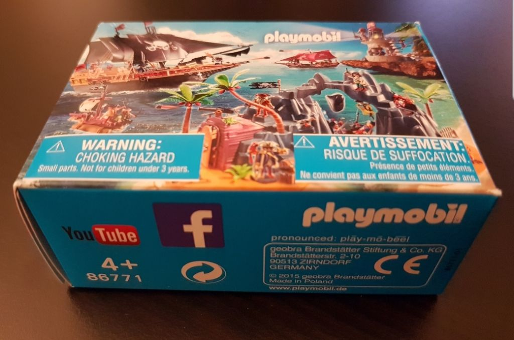 Playmobil 86771-ger - Mini-Puzzle Pirates (2015) - Box
