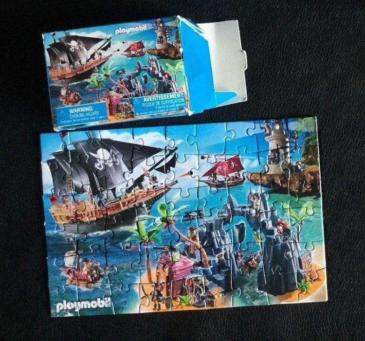 Playmobil 86771-ger - Mini-Puzzle Pirates (2015) - Back
