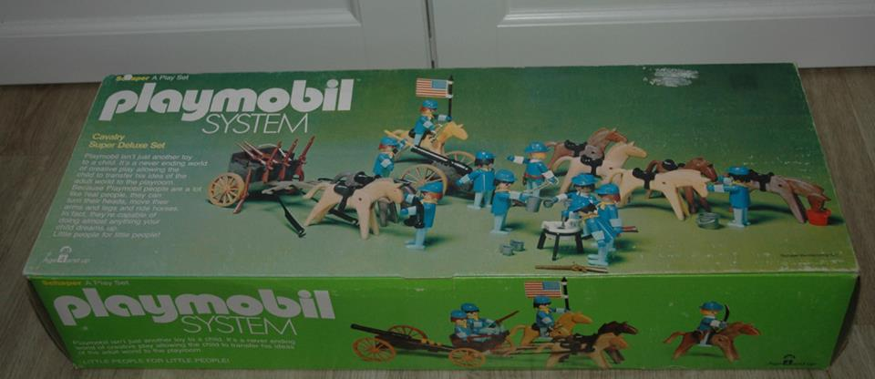 Playmobil 064-sch - Cavalry Super Deluxe Set - Box