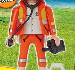 Playmobil R027-30790254-ESP - Emergency physician - Box