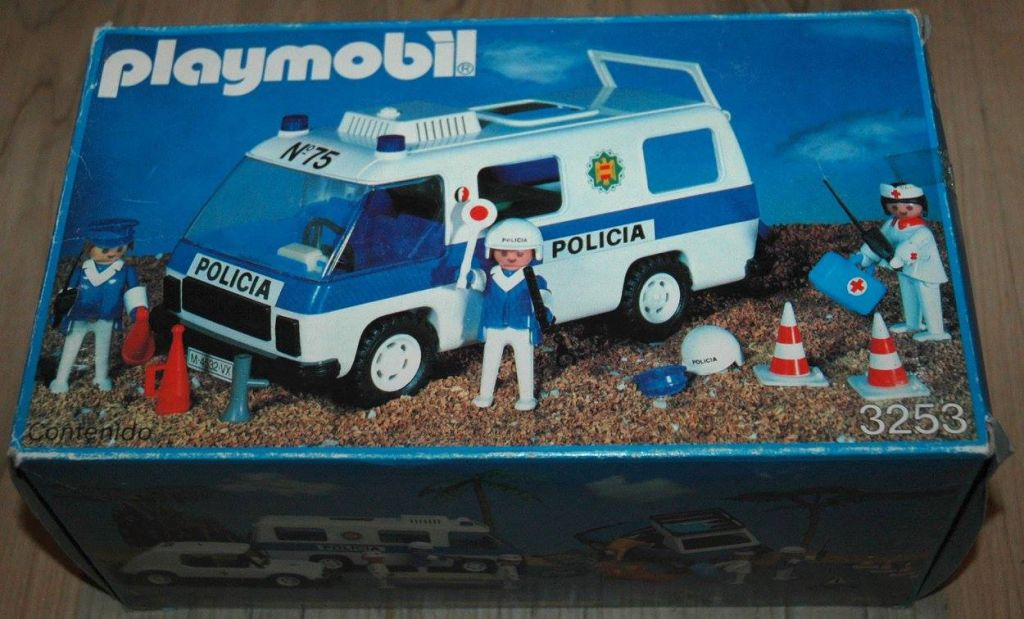 Playmobil 3253-fam - Furgon Policial - Box