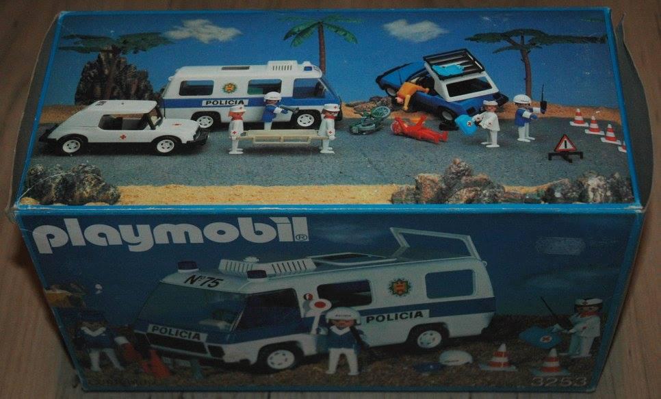 Playmobil 3253-fam - Furgon Policial - Back