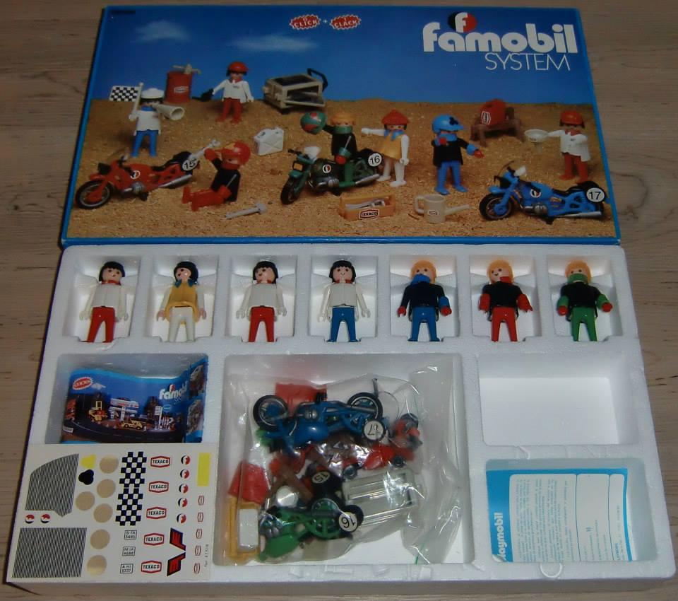 Playmobil 3412-fam - 7 Motoristas - Back