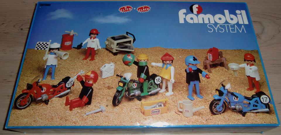 Playmobil 3412-fam - 7 Motoristas - Box