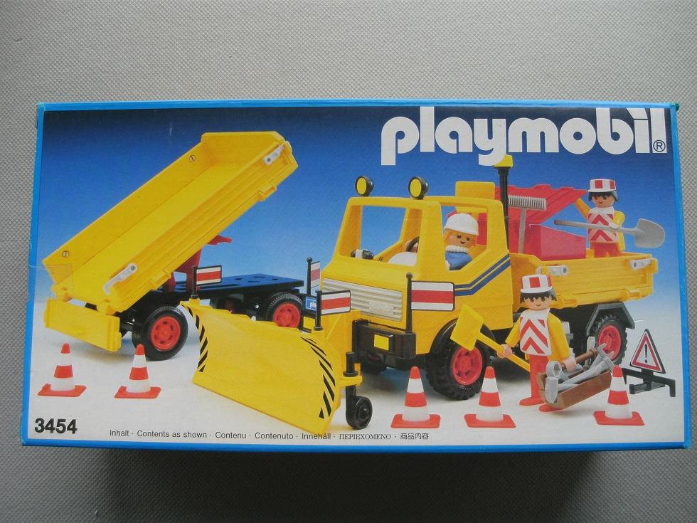 Playmobil 3454 - Snow Clearance Vehicle - Box