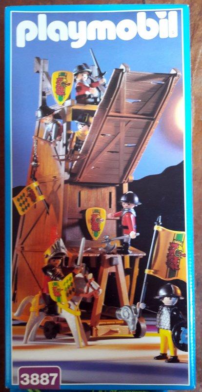 Playmobil 3887 - Siege Tower - Box