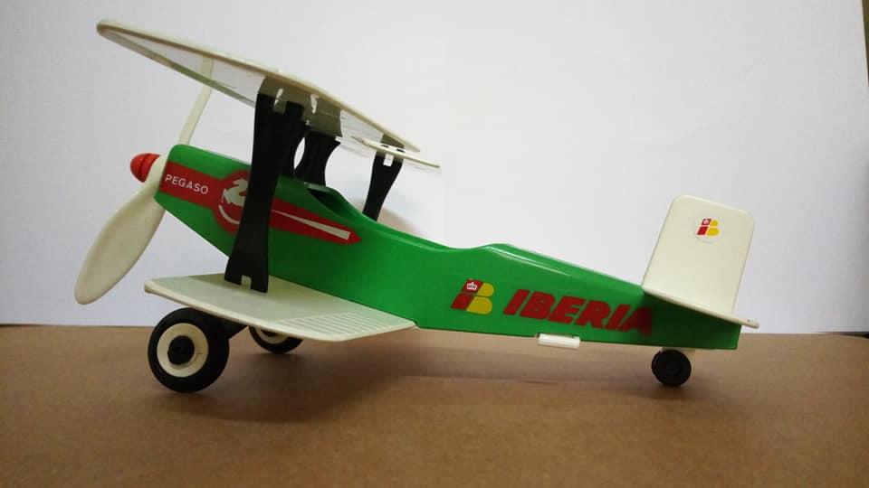Playmobil 3246v2-esp - Biplane Pegasus - Back