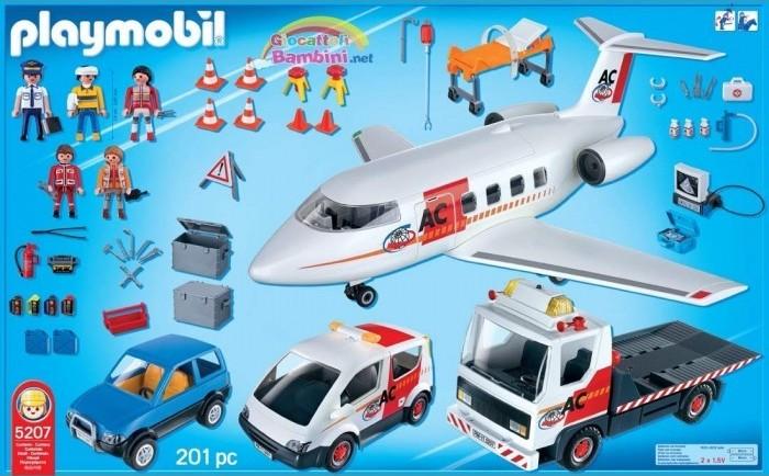 Playmobil 5207 - Transport-Megaset - Back