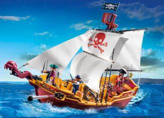 Playmobil - 5678 - Red Serpent Pirate Ship