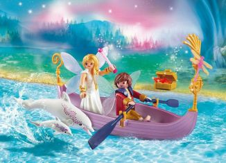 Playmobil - 70000 - Romantic Fairy Boat