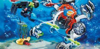 Playmobil - 70003 - SPY TEAM Sub Bot