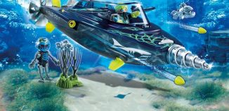 Playmobil - 70005 - TEAM S.H.A.R.K. Drill Destroyer